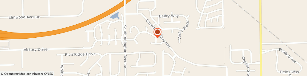 Route/map/directions to Flagstone Concrete, 46201 Indianapolis, 6171 Woods Ln