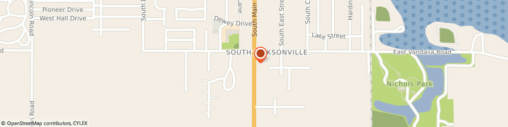 Route/map/directions to Safeco Insurance Agent, 62650-3516 Jacksonville, 1840 S Main St