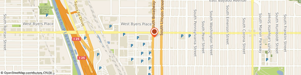 Route/map/directions to Subway, 80209 Denver, 303 S Broadway