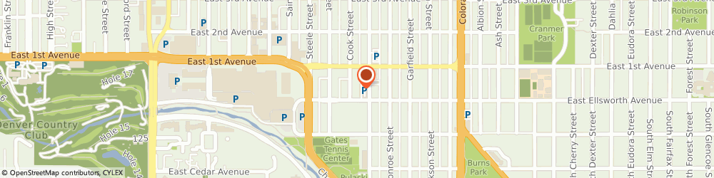 Route/map/directions to Communications Strategy Group, 80206 Denver, 44 Cook St #450