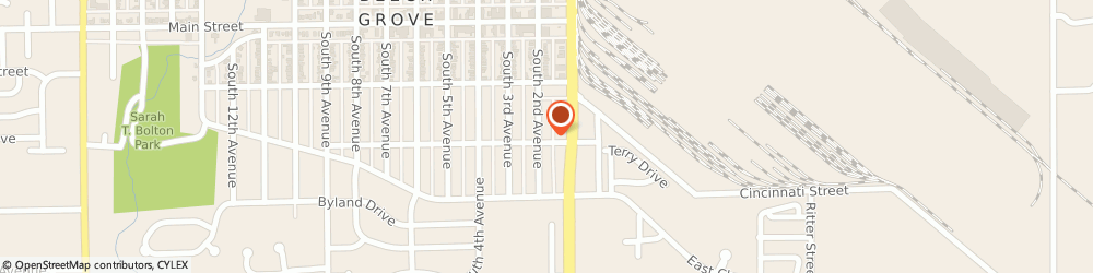Route/map/directions to Beckham Caulking Inc, 46107 Beech Grove, 155 S 2Nd Ave