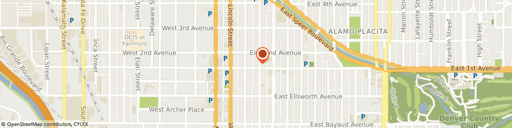 Route/map/directions to Vita Flats, 80203 Denver, 101 Grant Street