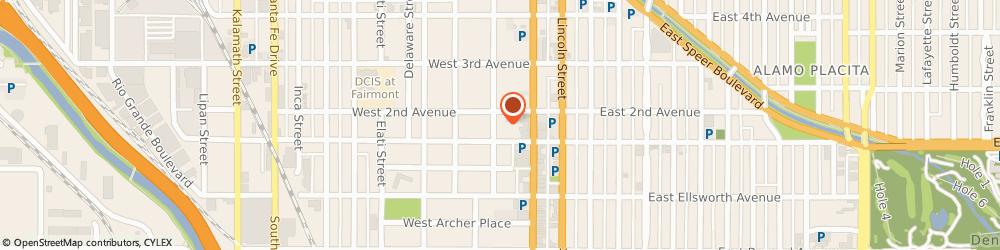 Route/map/directions to Kimbulian & Noury Oriental Rugs, 80223 Denver, 126 Acoma St