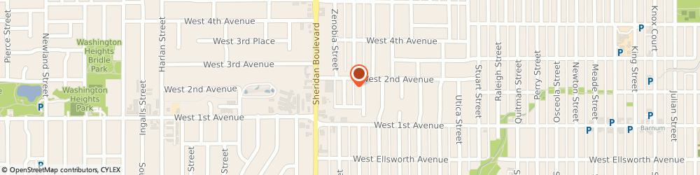 Route/map/directions to Bargas Painting, 80219 Denver, 180 YATES STREET