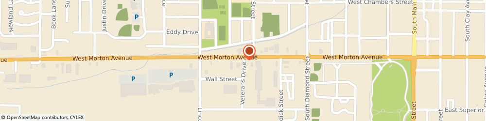 Route/map/directions to Safeco Insurance Agent, 62650-4032 Jacksonville, 1122 Veterans Dr