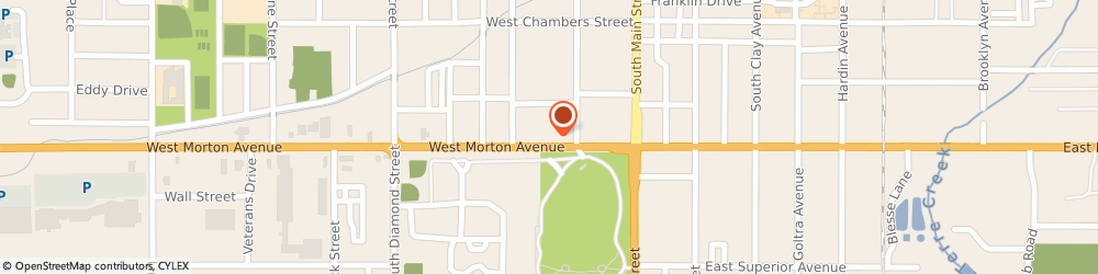 Route/map/directions to Farmers Insurance - Michael Lonergan, 62650 Jacksonville, 228A W Morton Ave