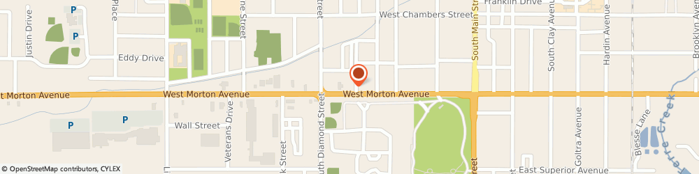 Route/map/directions to STATE FARM Phil Wiegand, 62650 Jacksonville, 506 W Morton Ave