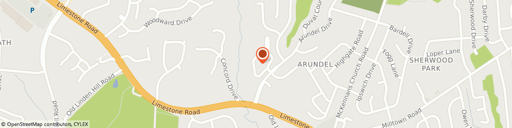 Route/map/directions to Arundel, 19808 Wilmington, 2901 CROSSFORK DRIVE