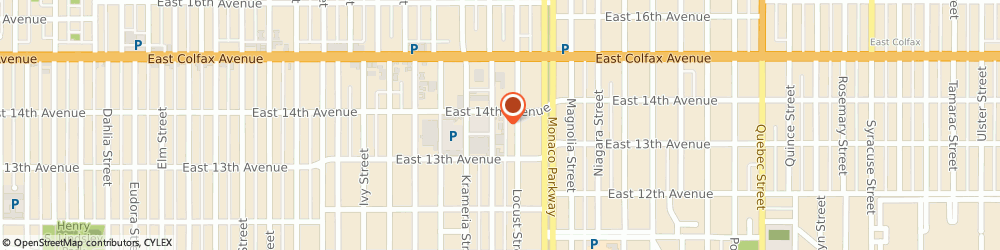 Route/map/directions to Martinizing Dry Cleaning, 80220 Denver, 1364 Leyden St