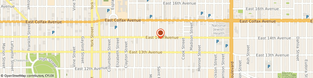 Route/map/directions to Ad Wear Incorporated, 80206 Denver, 1379 SAINT PAUL STREET