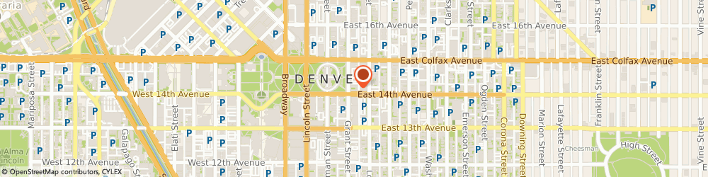 Route/map/directions to Lifework Inc Medical, 80203 Denver, 1410 GRANT STREET