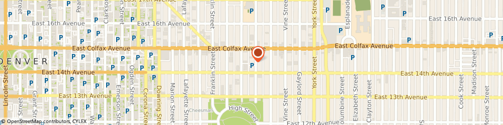 Route/map/directions to Reinan Law, 80218 Denver, 1437 High Street