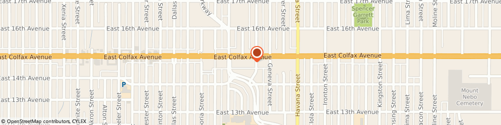Route/map/directions to Broyhill Home Collections, 80010 Aurora, 10180 E Colfax Ave
