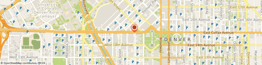 Route/map/directions to Ace Carpet Installations, 80123 Denver, 4451 S Ammons St
