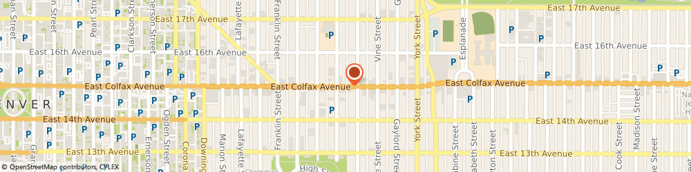 Route/map/directions to Subway Sandwiches & Salads, 80206 Denver, 1919 EAST COLFAX AVENUE