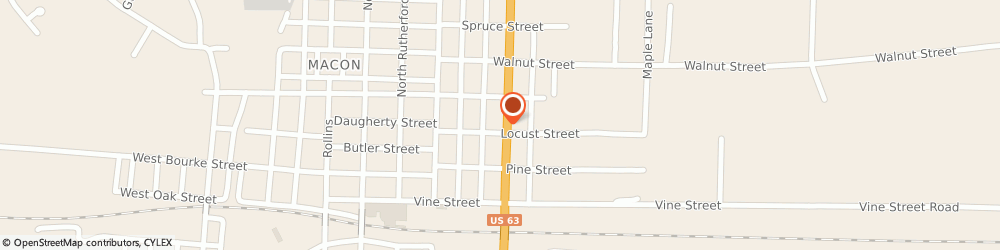 Route/map/directions to Navy Federal Credit Union, 63552 Macon, 301 N Missouri St