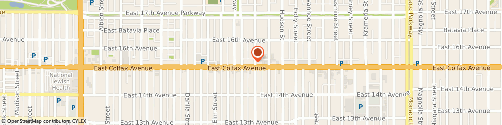 Route/map/directions to Taco Bell, 80220 Denver, 5225 E Colfax Ave