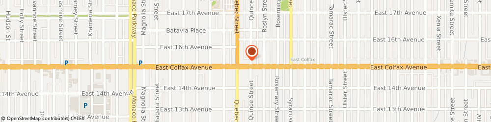 Route/map/directions to Subway, 80220 Denver, 7327 E Colfax Ave