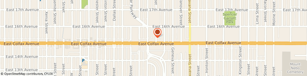 Route/map/directions to J K Import Co, 80010 Aurora, 10061 E COLFAX AVE