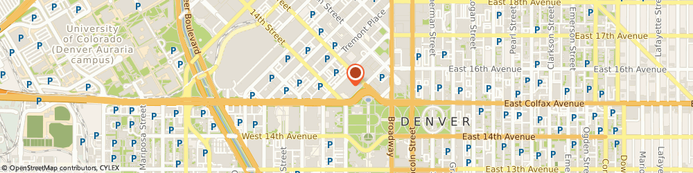 Route/map/directions to Subway, 80202 Denver, 201 W Colfax
