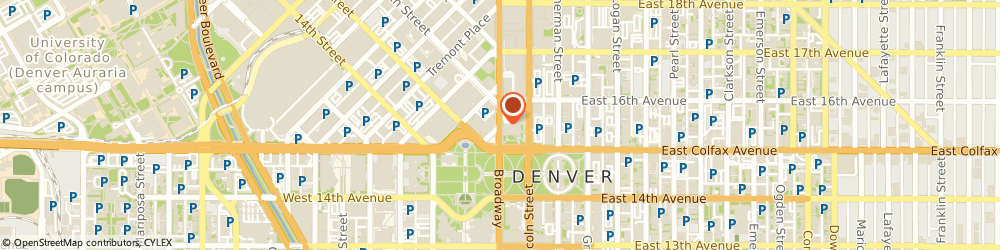Route/map/directions to Subway Sandwiches & Salads, 80202 Denver, 1550 BROADWAY