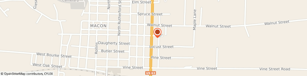 Route/map/directions to Navy Federal Credit Union ATM, 63552 Macon, 310 N Missouri St