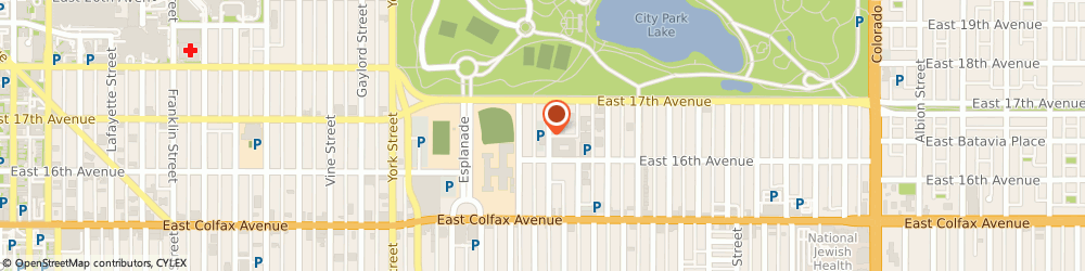 Route/map/directions to Neocom Promo LLC, 80206 Denver, 1633 Fillmore Street