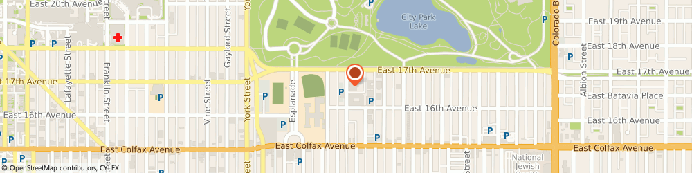 Route/map/directions to Provenant Distribution Ctr, 80206 Denver, 1655 FILLMORE ST