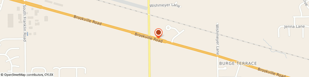 Route/map/directions to Subway, 46239 Indianapolis, 9025 BROOKVILLE ROAD