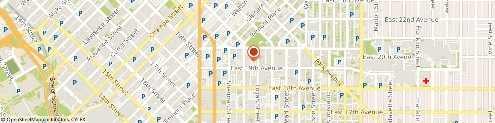 Route/map/directions to Metro Denver Anesthesia - Adrian f Newens Md, 80203 Denver, 1900 GRANT STREET, # 1000
