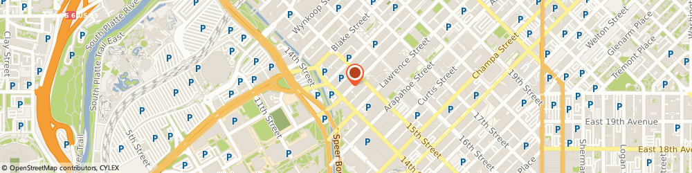 Route/map/directions to Larimer Square Cleaners, 80202 Denver, 1423 Larimer St, Ste 50
