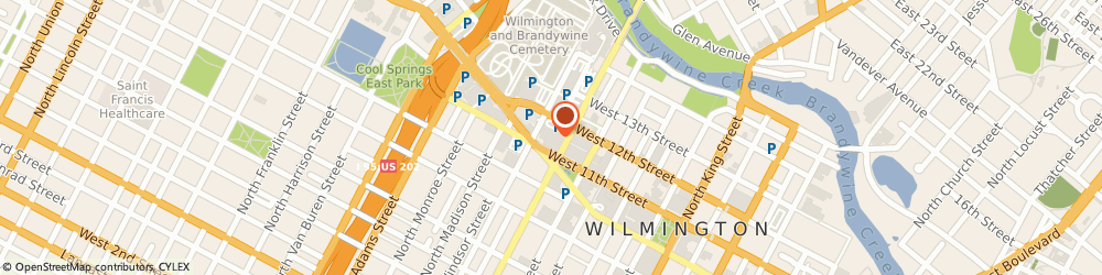 Route/map/directions to Central Branch YMCA, 19801 Wilmington, 501 W 11Th St