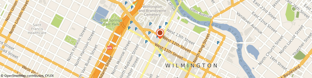 Route/map/directions to YMCA of Delaware, 19801 Wilmington, 501 W 11Th St