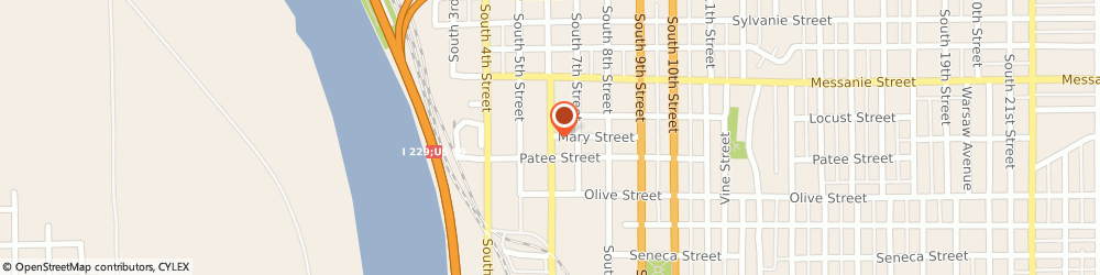 Route/map/directions to Glass Doctor, 64501 Saint Joseph, 730 SOUTH 6TH STREET
