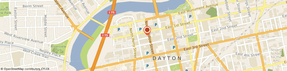 Route/map/directions to USI Insurance Services LLC, 45402 Dayton, 131 N Ludlow St