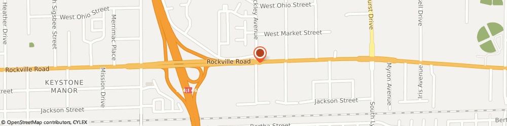 Route/map/directions to Microtel Inn & Suites by Wyndham Indianapolis Airport, 46224 Indianapolis, 5815 Rockville Road