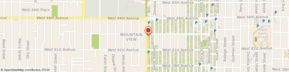 Route/map/directions to Berkeley United Methodist Church, 80212 Denver, 5200 WEST 43RD AVENUE