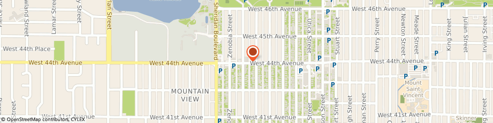 Route/map/directions to Piano Specialist Moving Co., 80212 Denver, 4985 W 44th Ave.