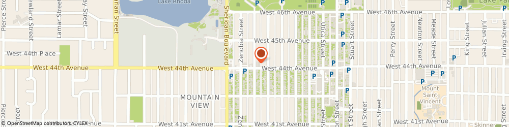 Route/map/directions to Stubbyfex Electro Musical Repair, 80212 Denver, 4416 YATES STREET