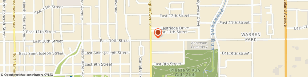 Route/map/directions to ACE Cash Express, 46219 Indianapolis, 6000 E 10th St