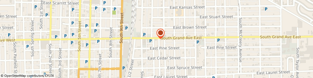 Route/map/directions to St Lukes Episcopal Church, 62703 Springfield, 1218 SOUTH GRAND AVENUE EAST