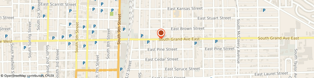 Route/map/directions to Asbury United Methodist Church, 62703 Springfield, 1229 SOUTH GRAND AVENUE EAST