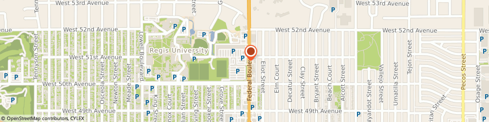 Route/map/directions to McDonald's, 80221 Denver, 5085 N Federal Blvd