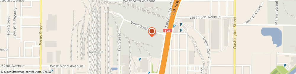 Route/map/directions to Quality Restaurant Equipment, 80216 Denver, 300 W 53rd Place Unit F