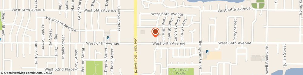 Route/map/directions to Kevin Dirst: Allstate Insurance, 80003 Arvada, 5067 W 64th Ave