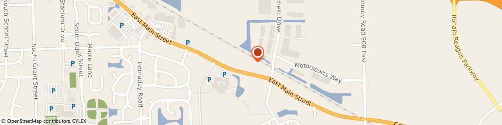 Route/map/directions to Brownsburg East Storage Llc, 46112 Brownsburg, 1400 E Main