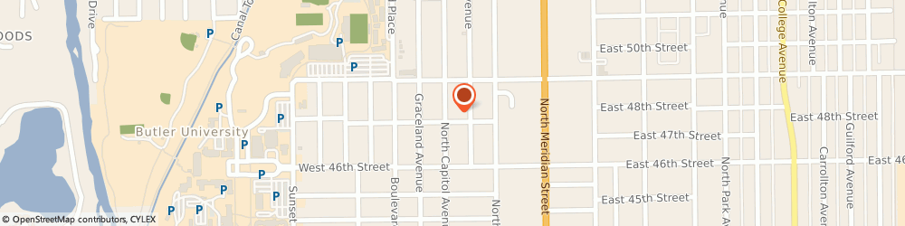 Route/map/directions to Blinds at Home, 46208 Indianapolis, 4709 N Capitol Ave
