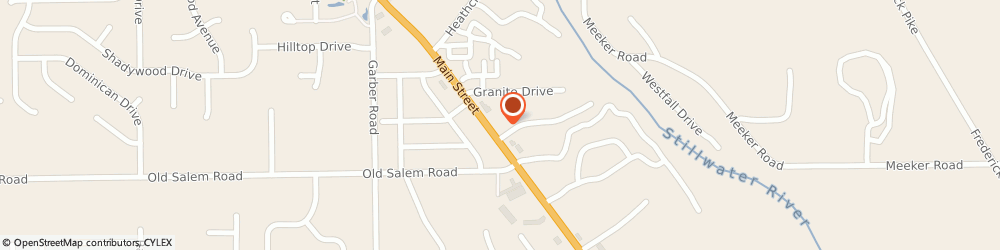 Route/map/directions to Steve Reed - State Farm Insurance Agent, 45415 Dayton, 8600 N. Main Street