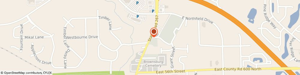 Route/map/directions to H&r Block, 46112 Brownsburg, 847 N GREEN ST