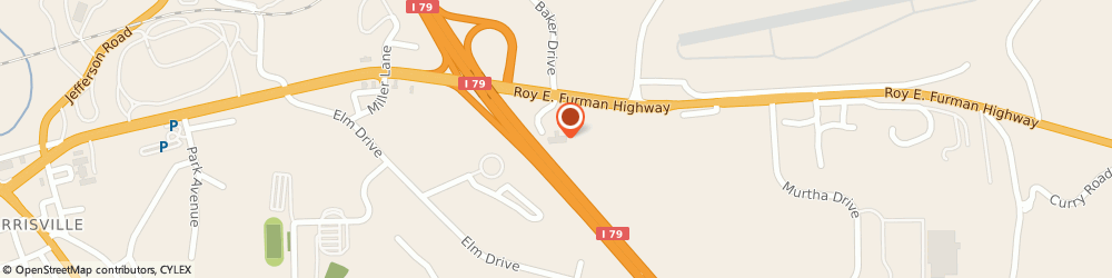 Route/map/directions to Quality Inn, 15370 Waynesburg, 100 Comfort Lane